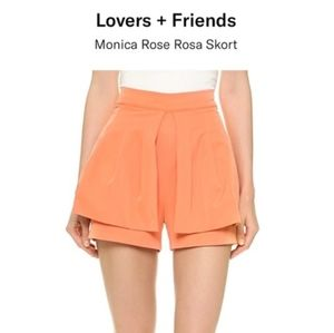 Monica Rose for Lovers + Friends Shorts